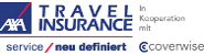 Logo der AXA Travel Insurance